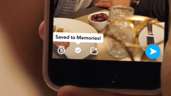Snapchat's new 'Memories' feature lets you save snaps indefinitely