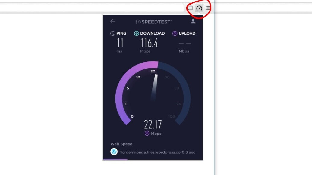This Chrome extension is the quickest way to test your internet speed