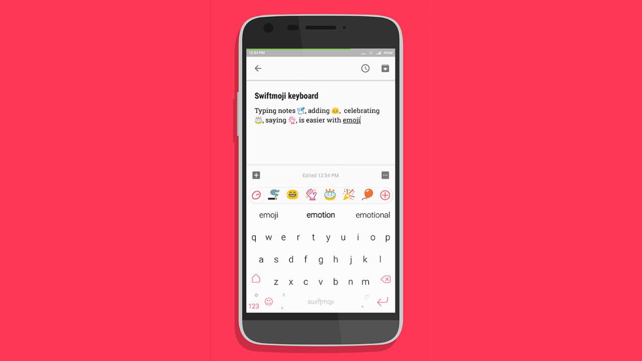 Swiftmoji brings a supercharged predictive emoji keyboard to iOS and Android
