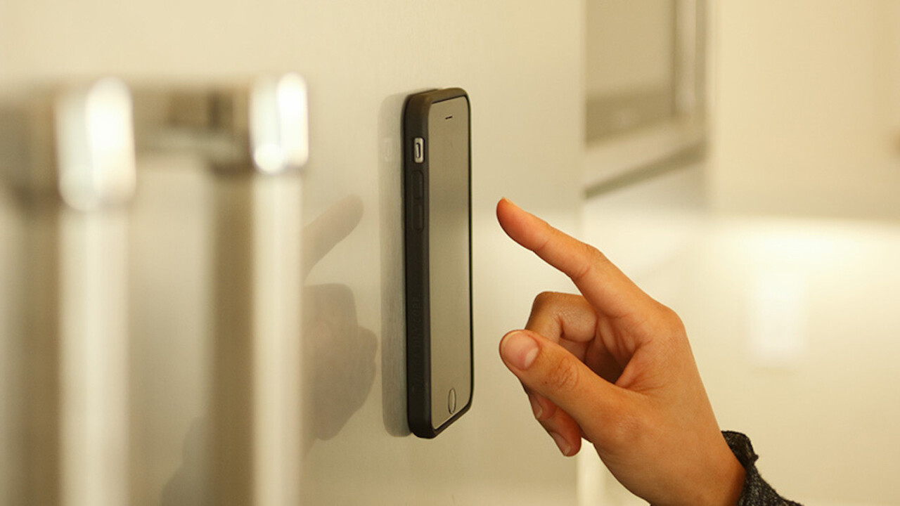 This Anti-Gravity iPhone Case lets you go hands-free virtually anywhere