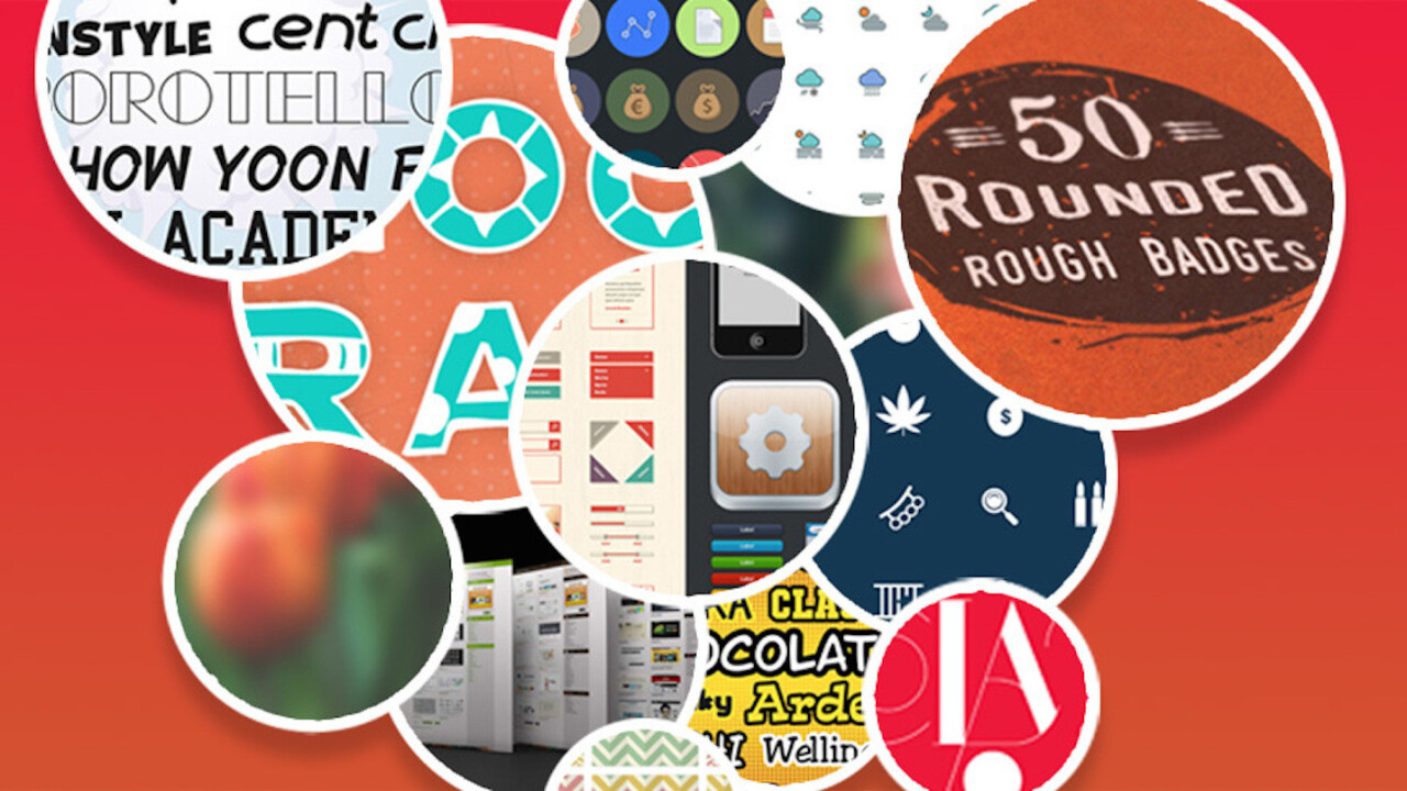 Pay what you want for the year's best design assets in The 2016 Summer Design Bundle