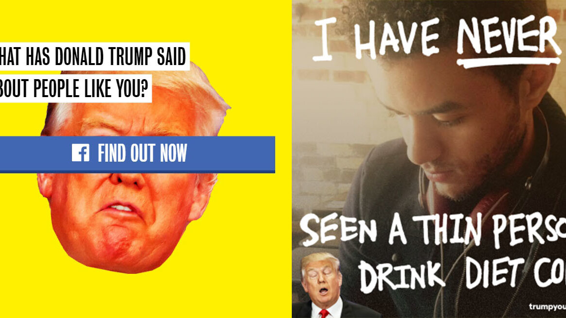 Team Clinton launches selfie filters to ridicule Trump