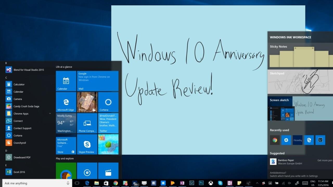 Month-old Windows 10 anniversary update won't reach everyone until November