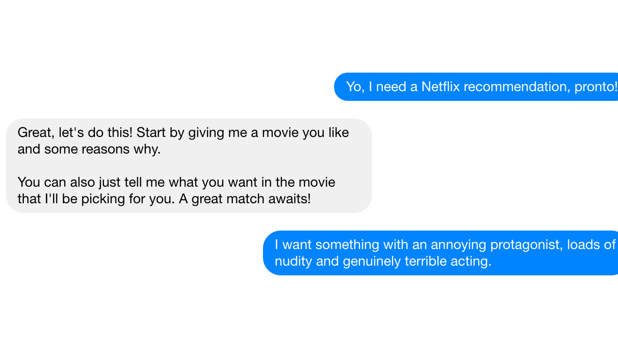 'And Chill' is the Netflix recommendation bot you didn't know you needed