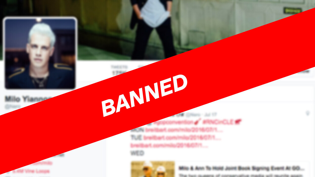 Twitter gives internet troll Milo Yiannopoulos the axe, bans him permanently – as it should
