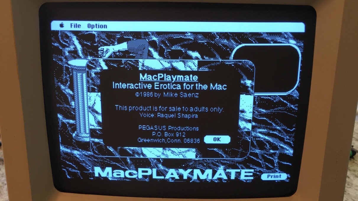 Redditor buys 80s Mac from Craiglist, stumbles upon a hidden porn game