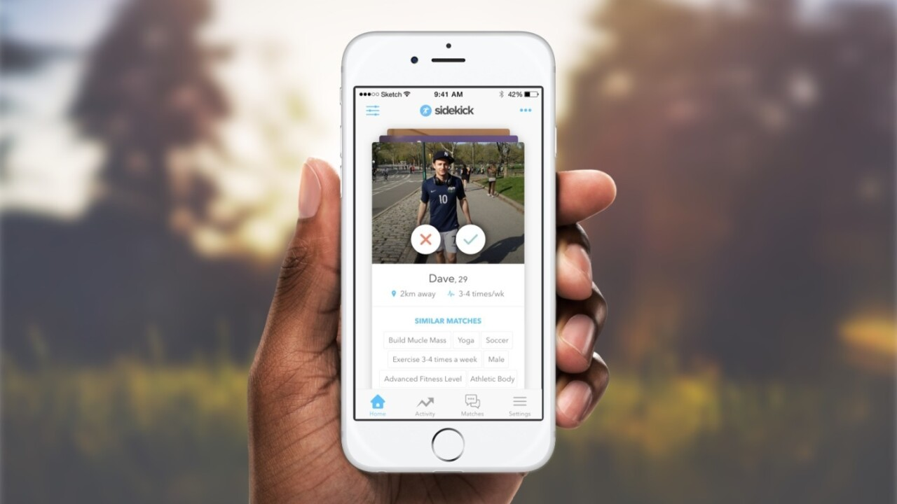 Find your perfect fitness partner with this mobile app