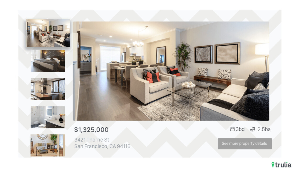 Trulia now has an Apple TV app for home buyers