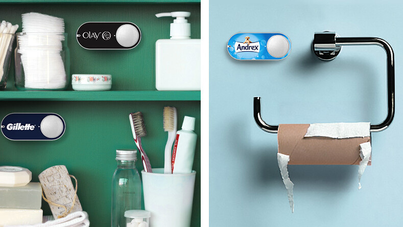 Amazon brings its Dash buttons to the UK, Germany and Austria for ordering staples with one touch
