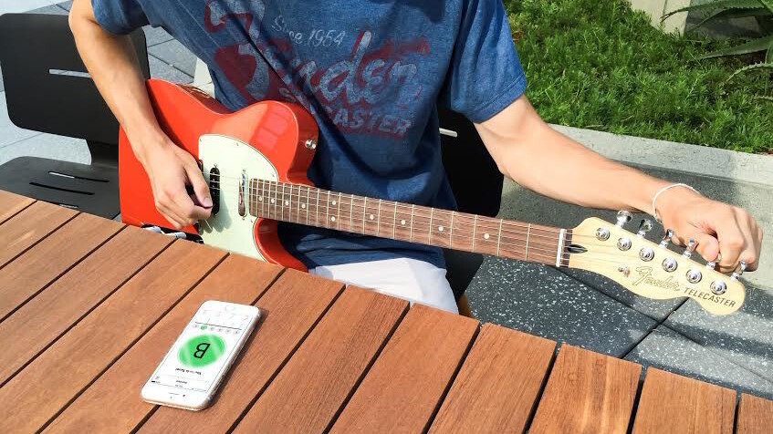 Guitar manufacturer Fender gets into the app business with Fender Tune