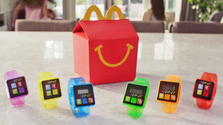 McDonald's plan to get kids moving backfires as free fitness trackers draw complaints