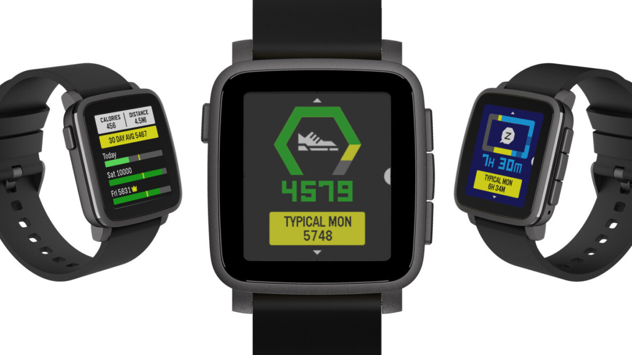 Pebble's latest firmware update brings an improved health app and interface enhancements