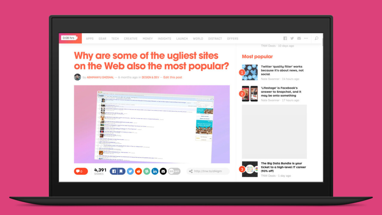 Should you read this article now or save it for later? There's a Chrome extension to help you decide