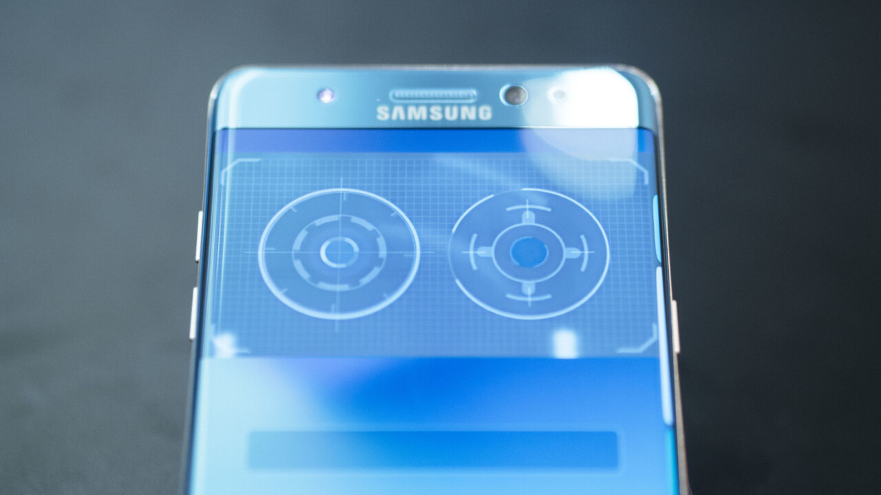Samsung S8's iris scanner fooled by photograph of an eye