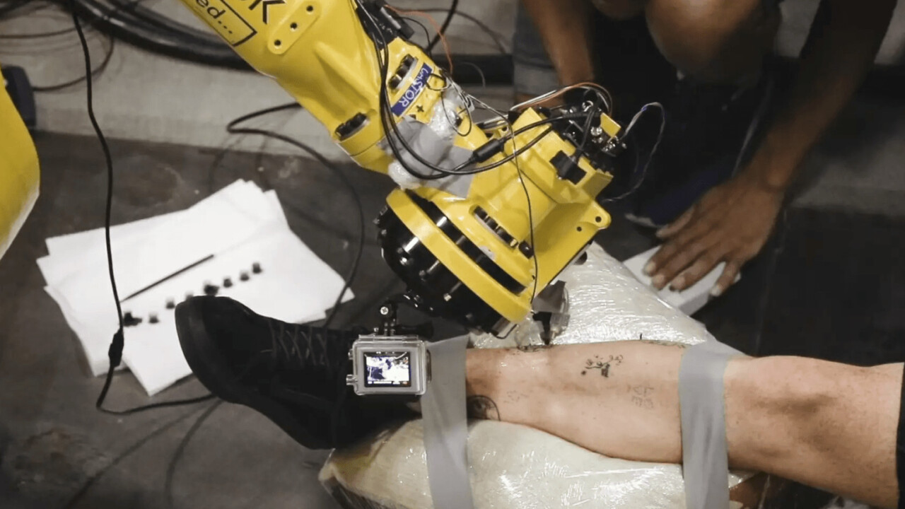 A robot tattooist could make you think twice about getting inked