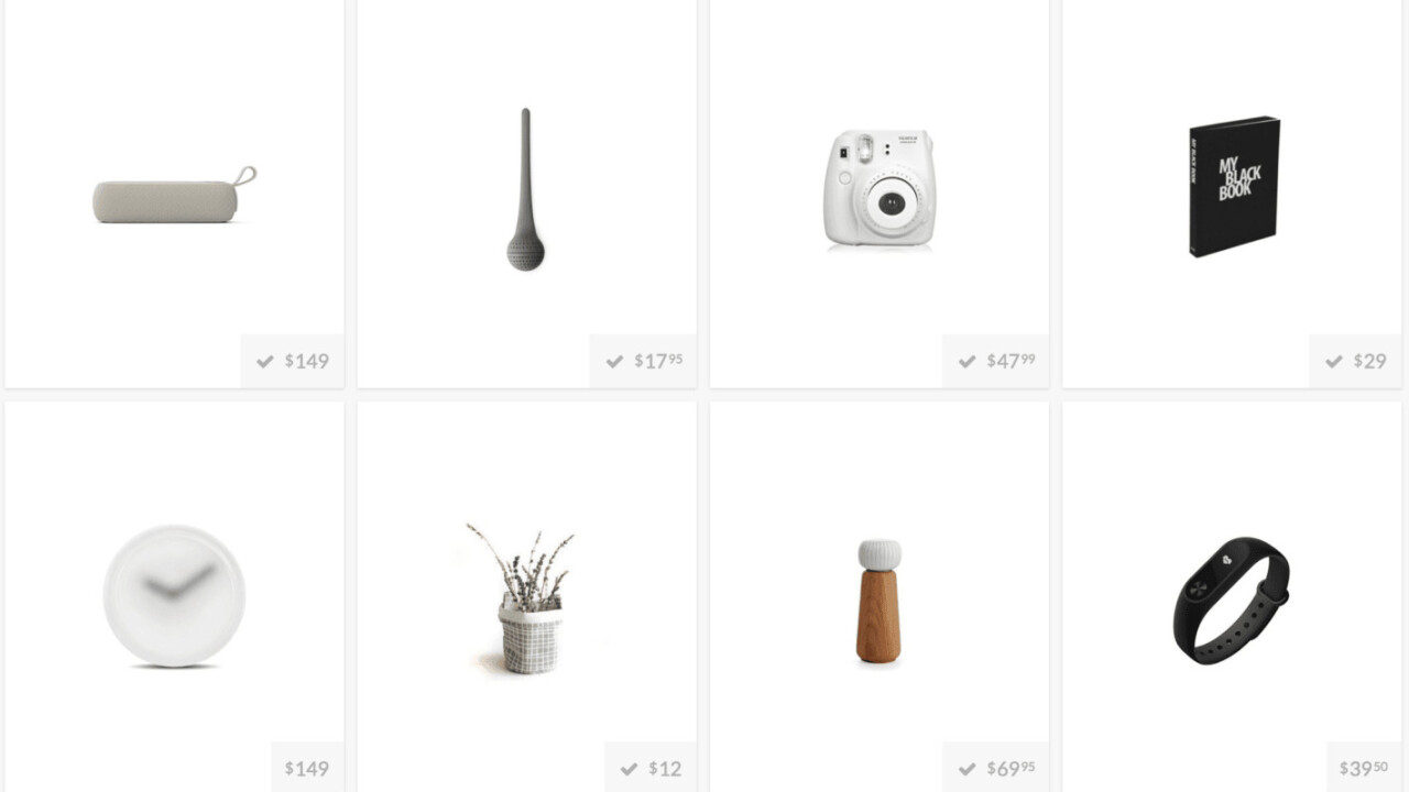This website is the best way to find beautifully designed products