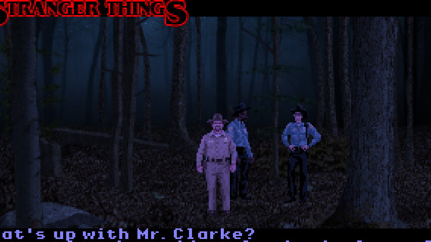 I can't get enough of this unofficial Stranger Things game