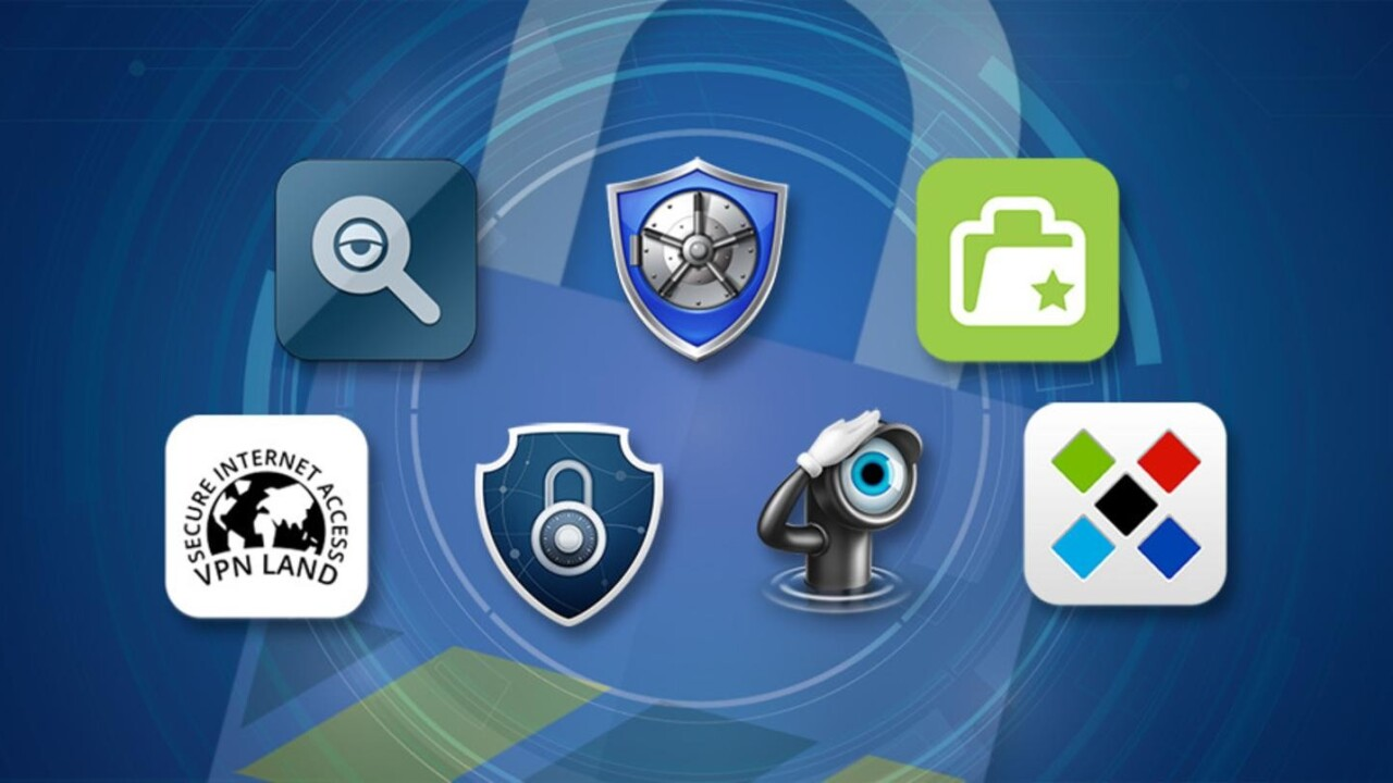 Pick up 7 top-rated security apps with the Ultimate Mac Cyber Security Bundle (79% off)