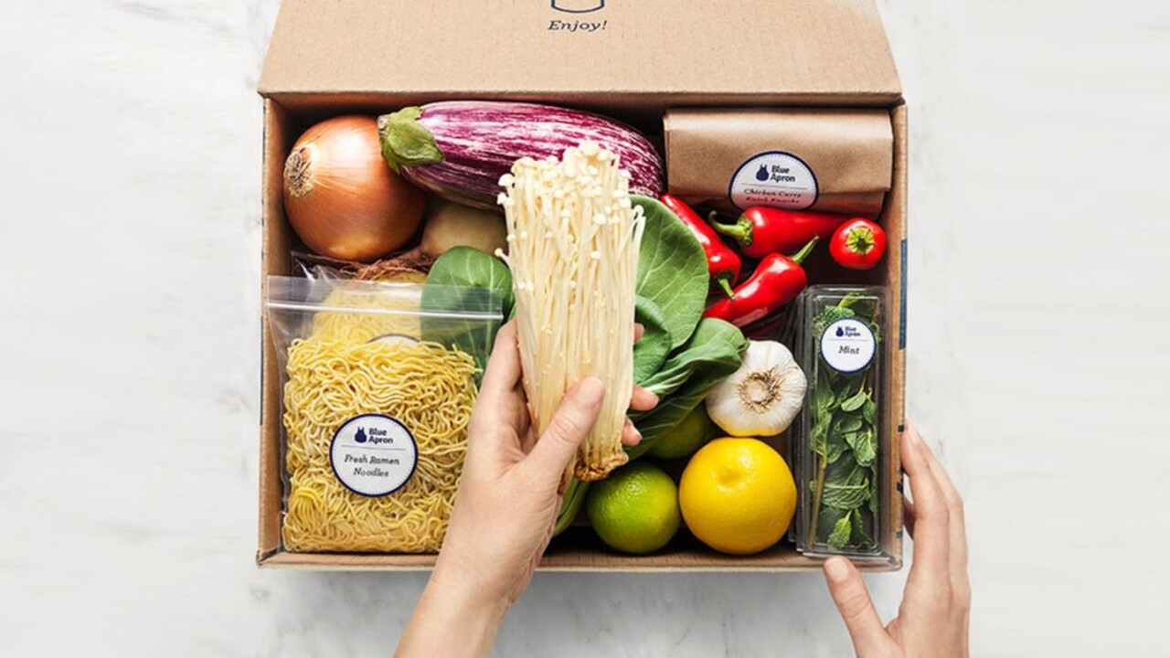 Get 3 gourmet meals from Blue Apron delivered for just $9 each (54% off)