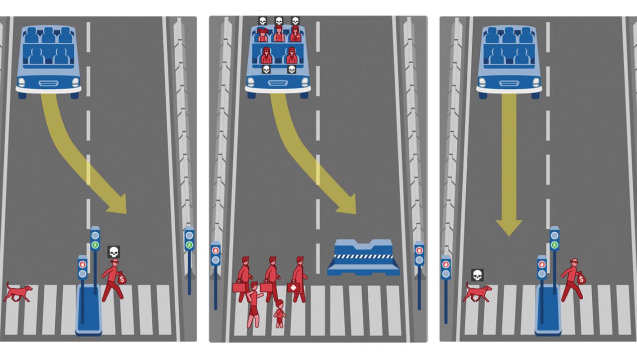 When should driverless cars kill their own passengers?