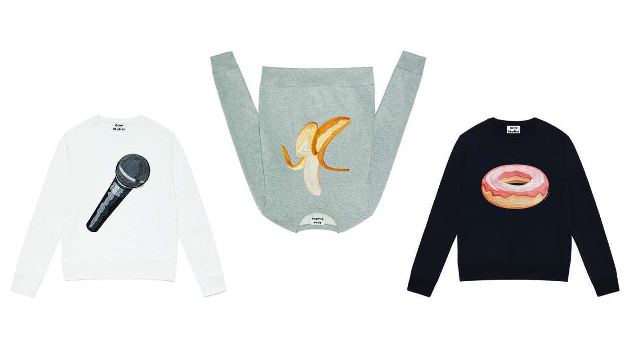 You can now buy a $300 banana emoji sweater from this high fashion brand