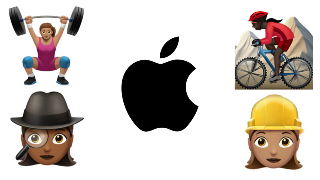 Apple gives iOS 100+ new emoji with a focus on women