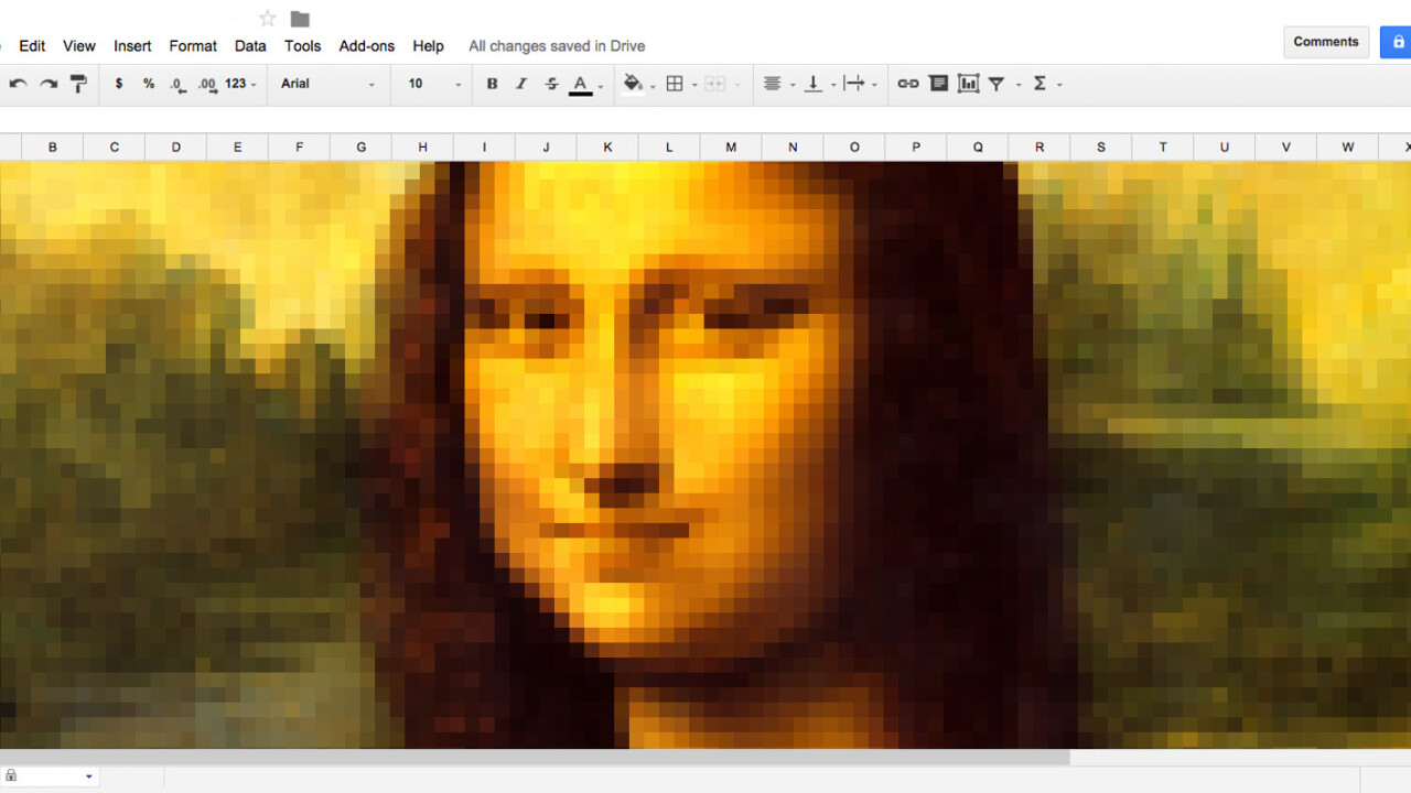 Create pixel art using any image in Google Sheets in just 3 steps