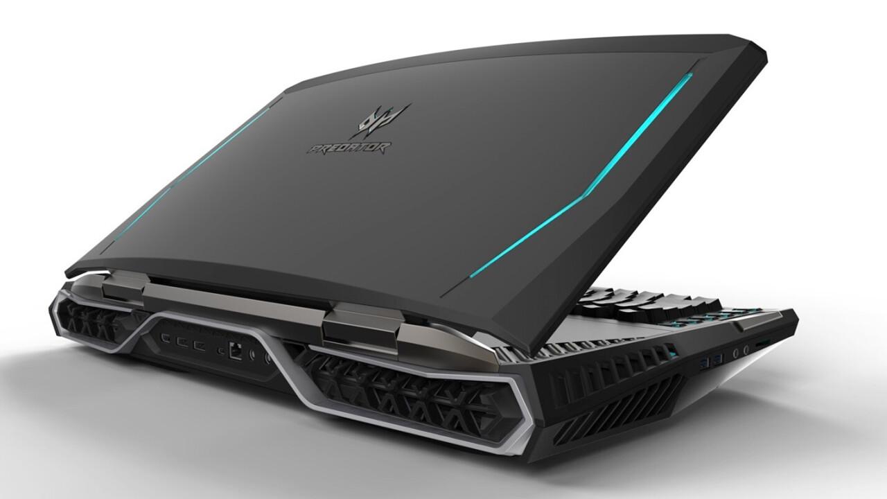 Acer's latest gaming laptop looks absolutely horrifying