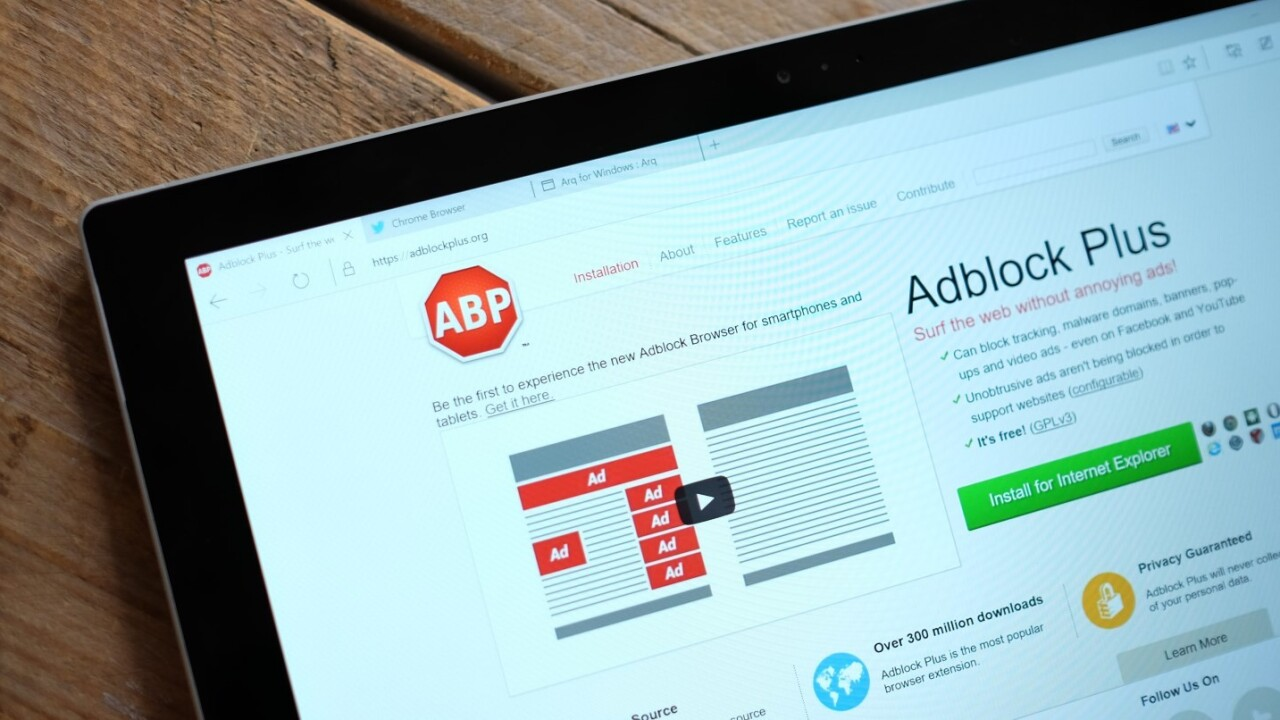 Fake Adblock Plus plugin downloaded over 37,000 times since September