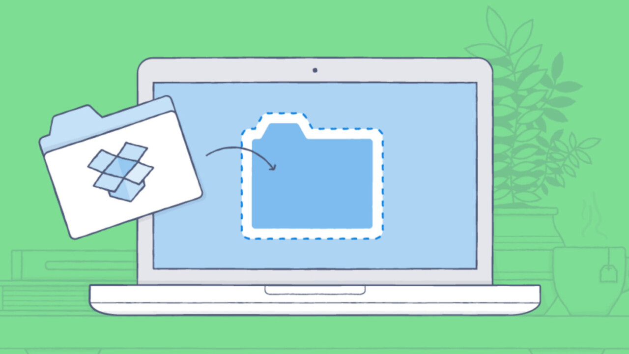 Dropbox now lets paid users download folders for offline use