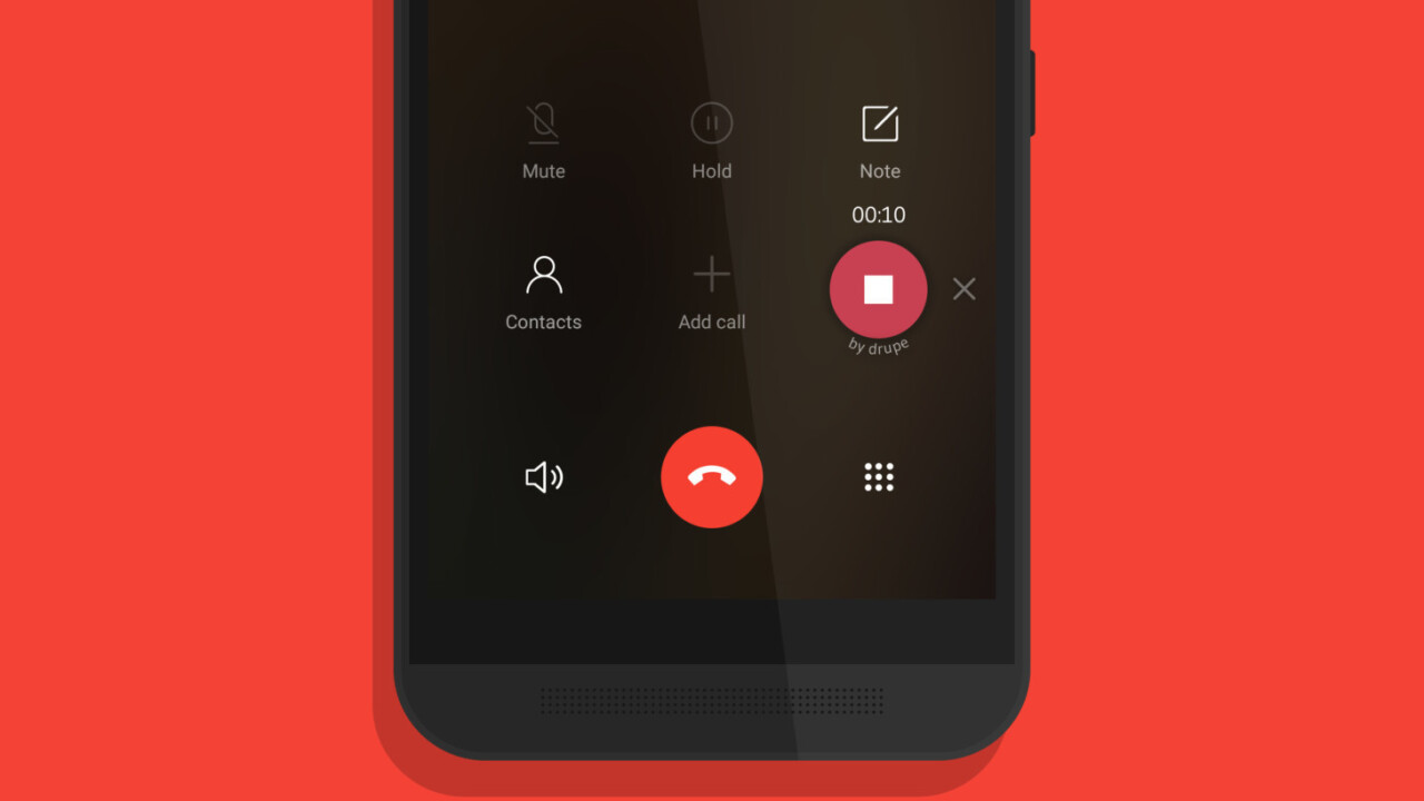 Drupe adds call recording to its free Android dialer app, no root required
