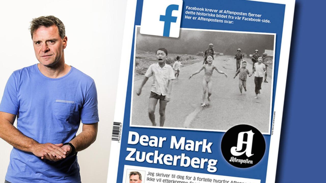 Zuckerberg slammed by Norwegian paper over Facebook censoring iconic war photo [Update: Facebook Repents]