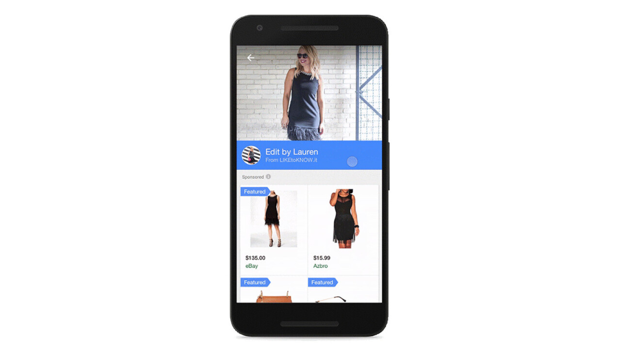 Google is turning its search engine into the ultimate lookbook for fashionistas