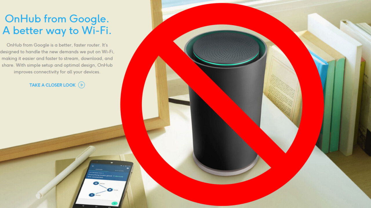 Report: Google to unveil smaller, linkable Wi-Fi router at Pixel event