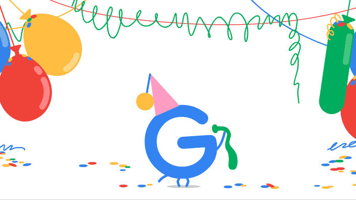 It's Google's birthday — here's how it looked 19 years ago