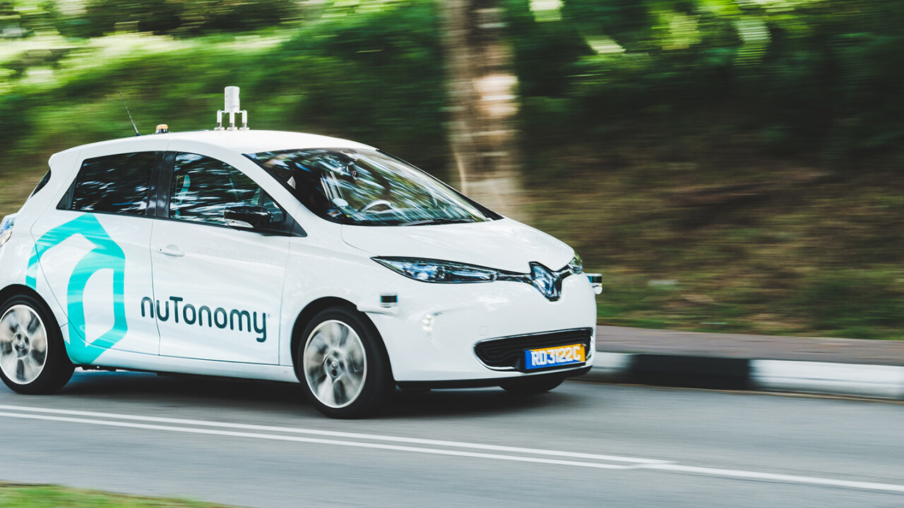 Uber's Asian rival is testing self-driving cabs in Singapore