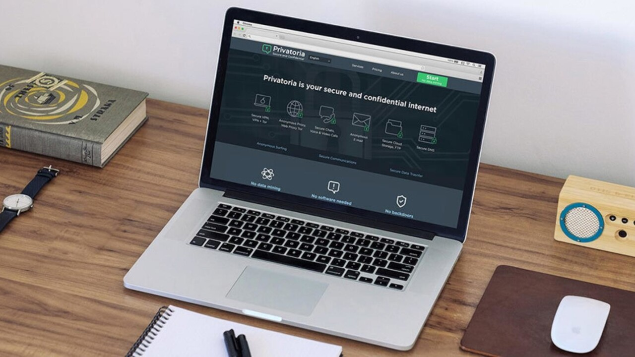 With Privatoria VPN, you'll enjoy three years of online security for only $29