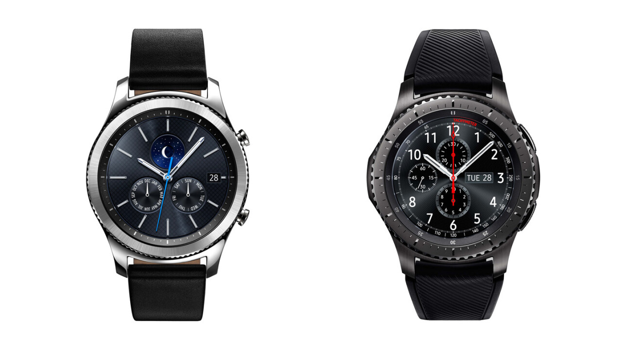 Samsung unveils its stunning GPS- and LTE-equipped Gear S3 smartwatches