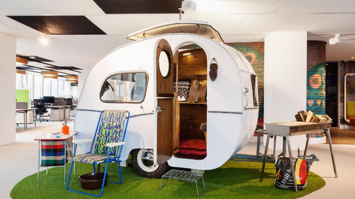 Want to increase the office productivity? Don't have an office!