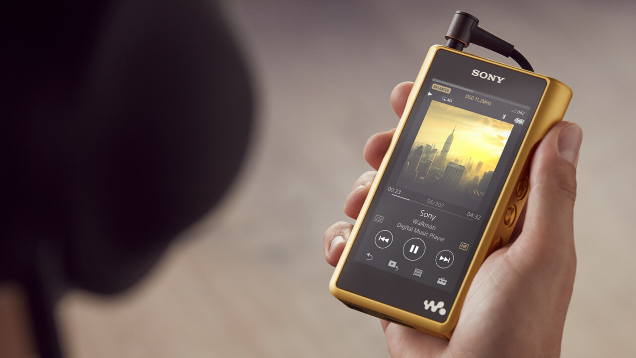 Sony's horrible, tacky, gross, god-awful new gold-plated walkman costs $3,680