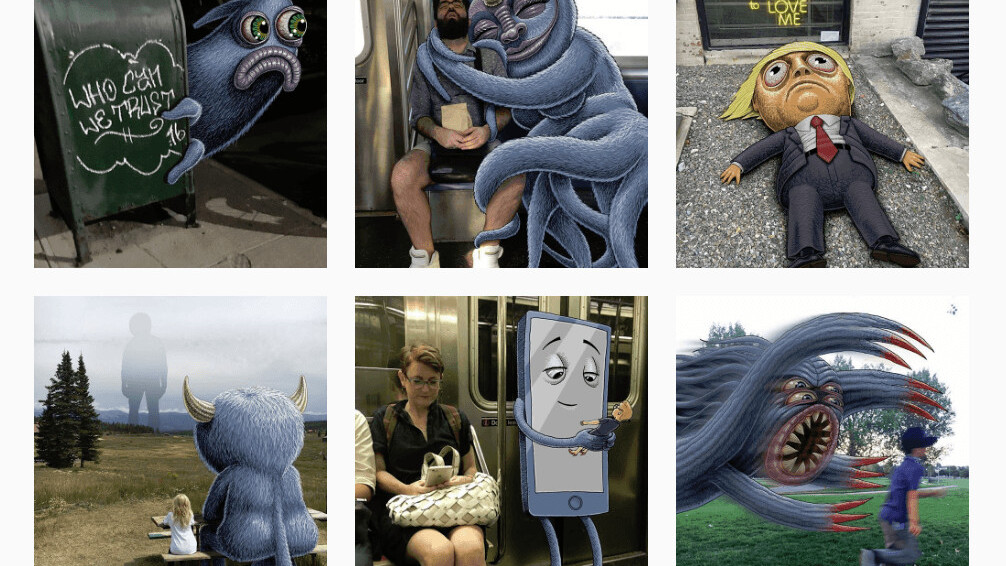 These genius subway doodles will make your commute home more epic