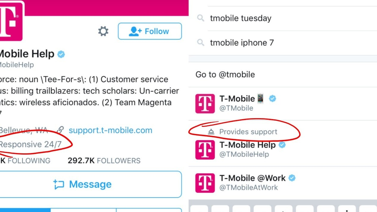 Twitter embraces customer service role by highlighting support accounts