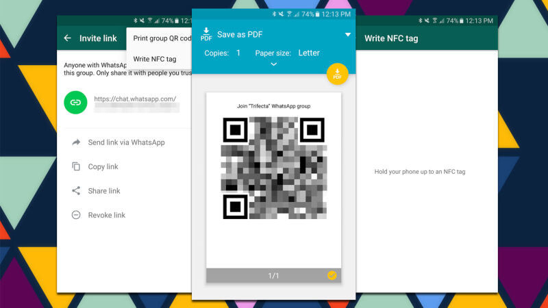 WhatsApp is testing a new group chat invite feature that uses shareable links