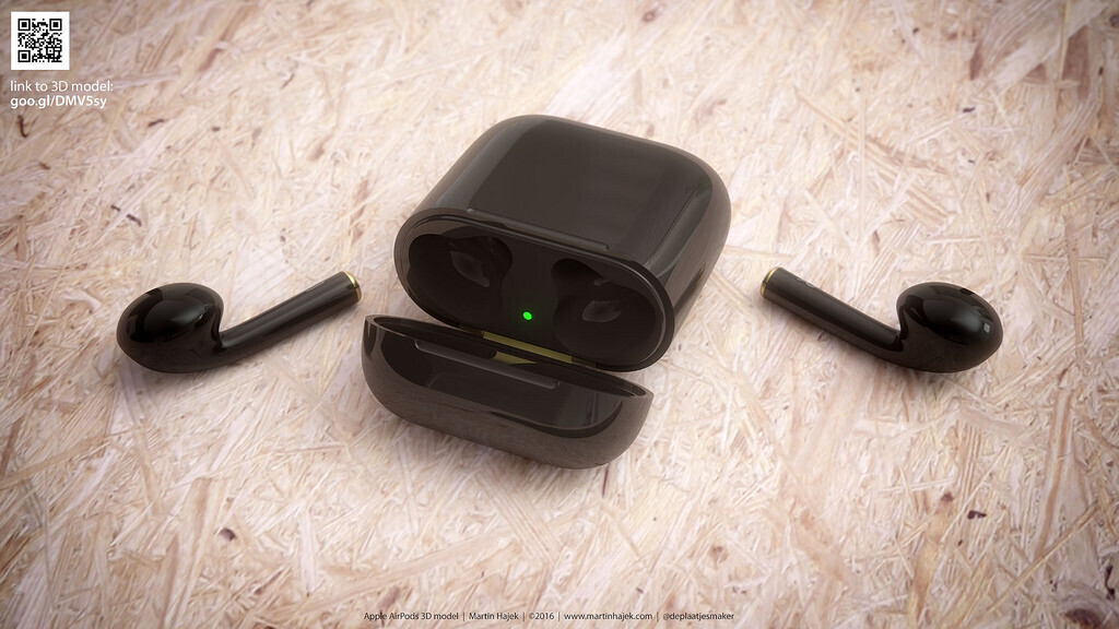 Apple's AirPods look so much better in black