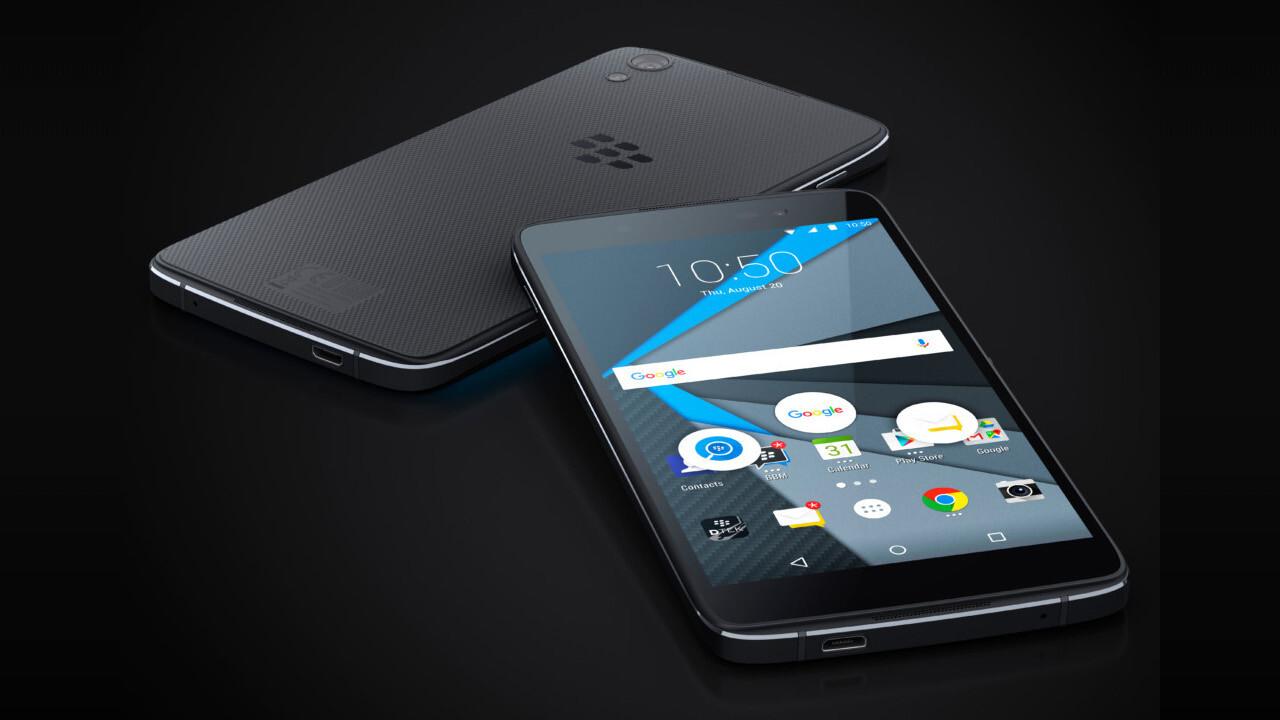 Yep. BlackBerry is dead.