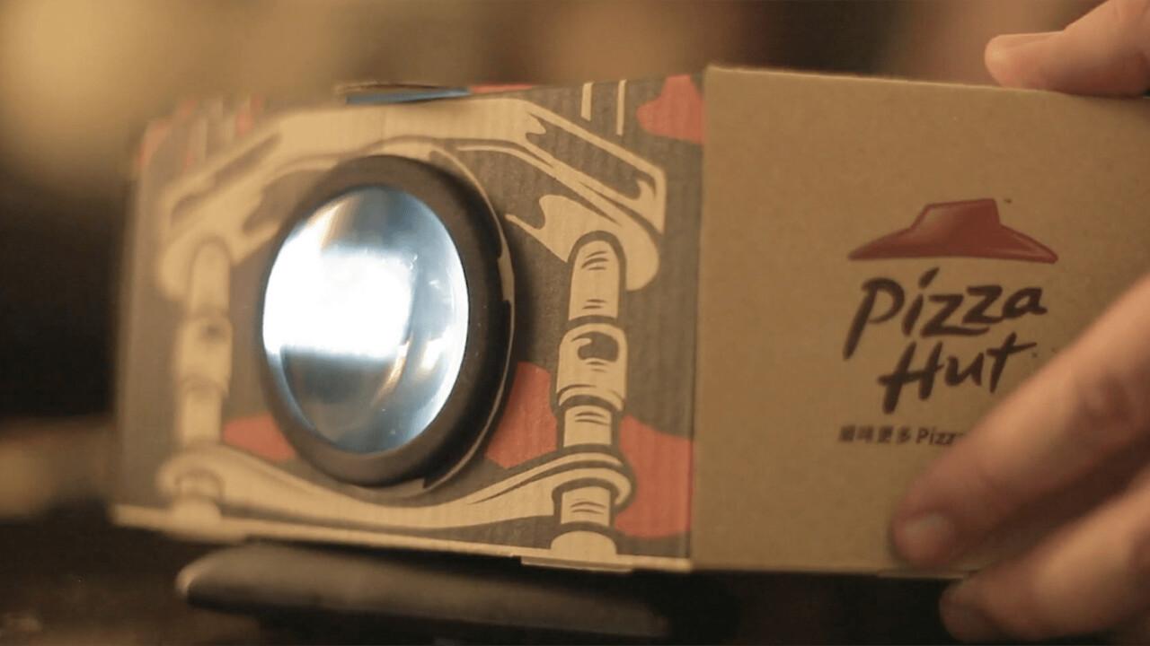 Pizza Hut's new 'Blockbuster Box' box is the perfect movie night companion