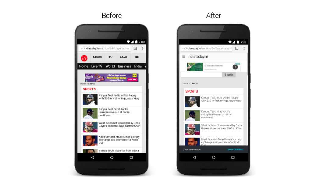 Chrome for Android is battling poor connectivity with new features