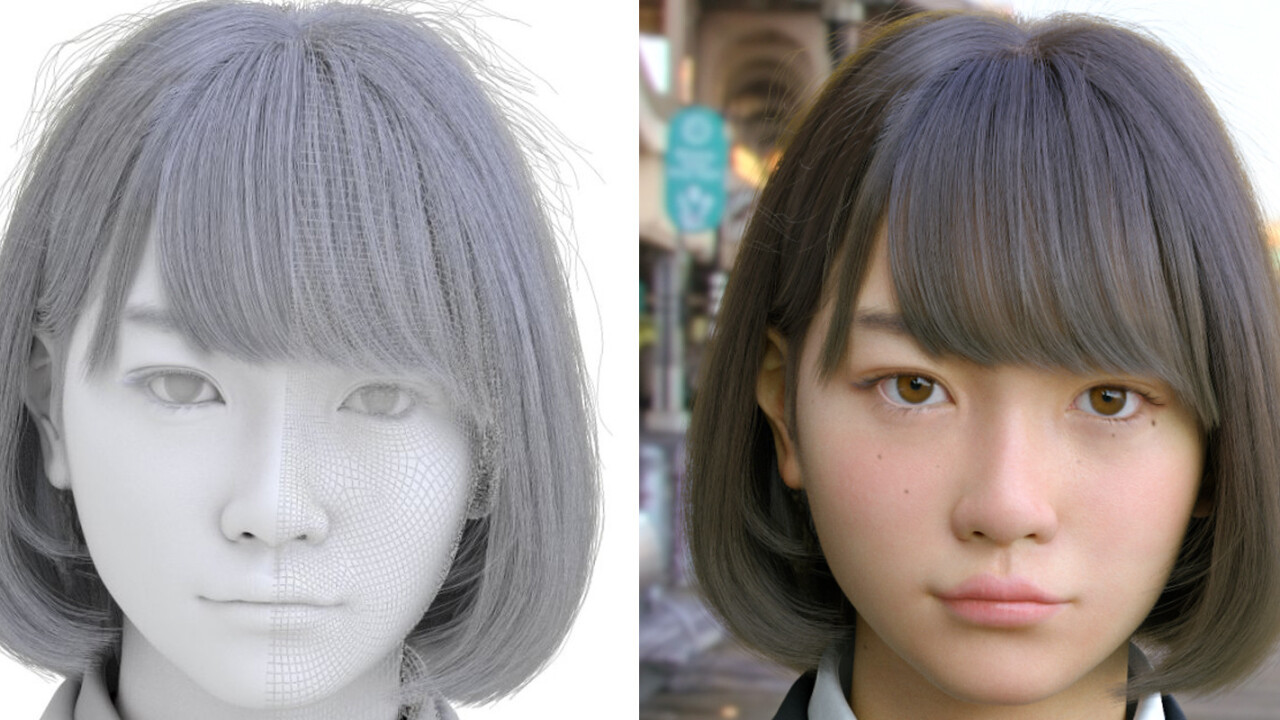 This girl isn't real, and it's proof that CGI isn't creepy anymore