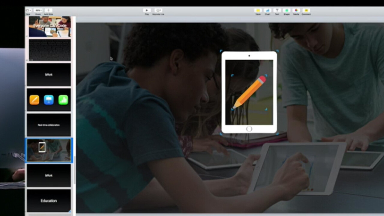 Apple is bringing real-time collaboration to iWork, ages after the competition