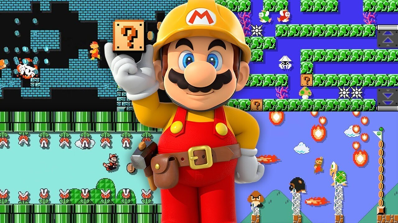 Super Mario Maker launches on the 3DS later this year